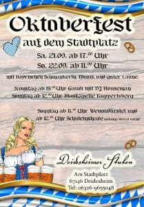 Oktoberfest Deidesheimer Stuben @ Deidesheimer Stuben